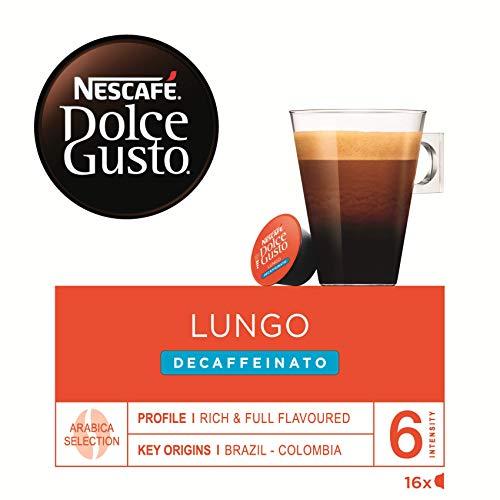 Nescafé Dolce Gusto Café Lungo Descafeinado - 16