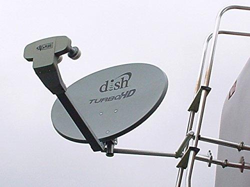Satellite Home Dish Ladder Mount
