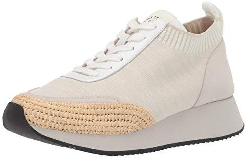 Loeffler Randall Damen Remi-SKRA Turnschuh, Raffia/Off White/Grey, 42 EU
