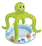 Intex 57115 Piscina hinchable pulpo, 45 litros, Multicolor, 1.02 x 1.04 m