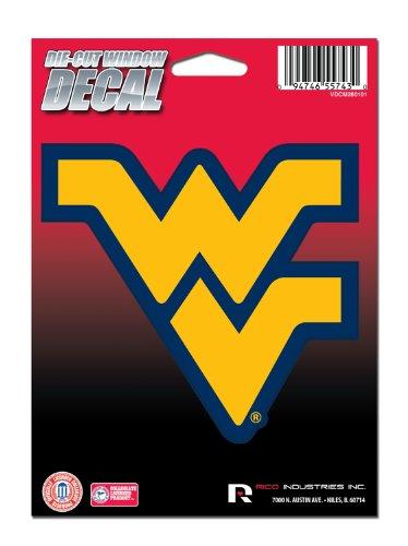 NCAA West Virginia Mountaineers Die Cut Vinyl Decal