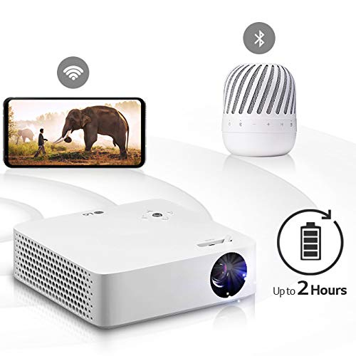 LG Electronics PH30N Portable CineBeam Projector with connectivity Bluetooth sound, Built-in Battery, and Screen Share