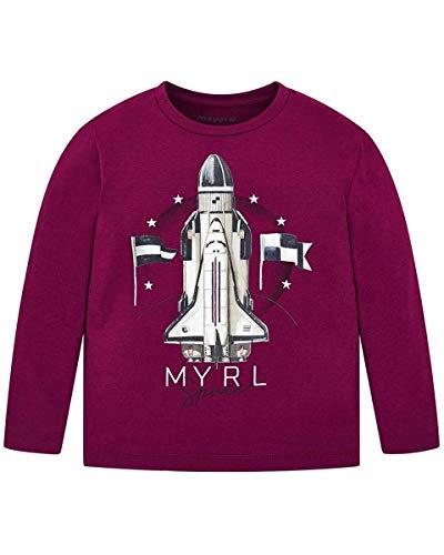 Mayoral - Camiseta con impresión infantil 054 Barbabieto 2 años