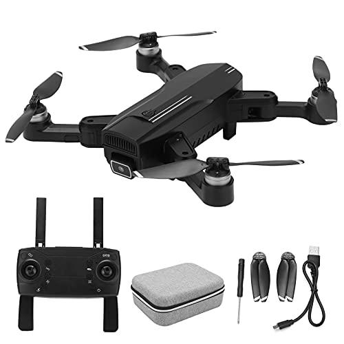 BOLORAMO Drone Aereo, ZD6 PRO Ultraleggero Pieghevole HD con Doppia Fotocamera Quadcopter WiFi GPS Ritorno Accurato 22 Minuti di Tempo di Volo Foto di Gesti, Aereo in Volo Stabile(#1)