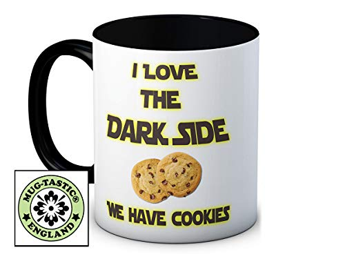 I Love the Dark Side We Have Cookies - Humoristique Haute Qualité Café Thé Mug