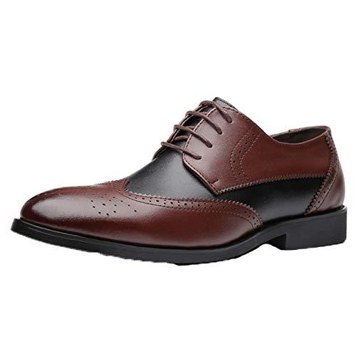 Zapatos de Vestir para Hombre, Zapatos Derby Formales para Novio, para Fiesta...