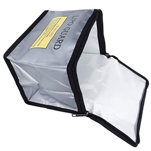SALALIS Bolsa de batería, Bolsa Protectora de batería a Prueba de explosiones para Transportar baterías LIPO