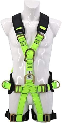 TINWG Arnés de Escalada, cinturón de Seguridad Fluorescente ...