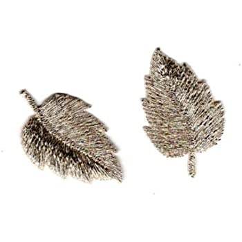 Ecusson Thermocollant 5 Petits Tr/èfles /à Feuilles 1,50 x 2,50 cm