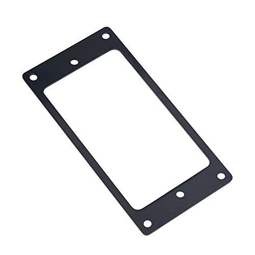 Telaio per Pickup in Metallo, 2 Pezzi Humbucker Pickup Frame Anelli di Montaggio Parti di Ricambio per Chitarra elettrica.(Black)