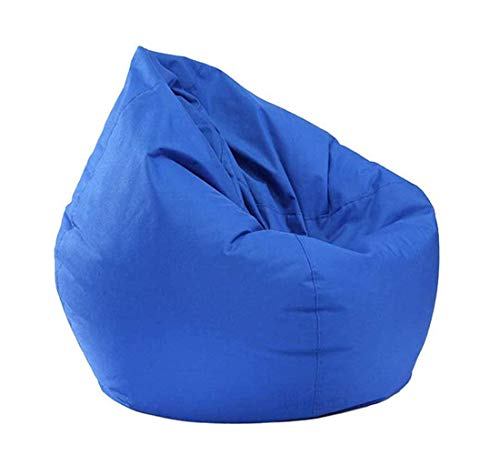Classic Bean Bag Chair Cover (No Filler) Stuffed Animals Storage Bean Bag Cover Waterproof Oxford Stuffable Zipper Beanbag for Kids and Adult Home Garden Lounge Living Room
