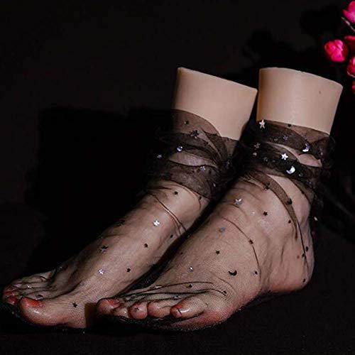 YYSDH 1 Paar Silikon Füße Mädchen Fuß Mannequin Klone Füße Fetisch Job Spielzeug FußFetisch Sandale Schuh Socke Fußspielzeug Mädchenfußmodell