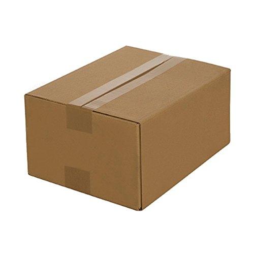100 Cartons pliants 250 x 175 x 100mm, Emballage Boîte D'envoi en Carton ondulé carton Caisse Envois Postaux