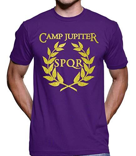Camiseta Camp Jupter Spqr Percy Jackson 4416 (M)