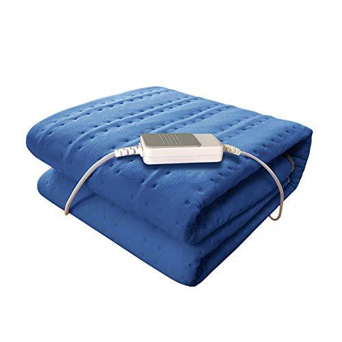 DIDIOI Verwarmingsdeken, single control, voor studentenhuis, bed, veiligheid, grote draagbare verwarmingsdeken