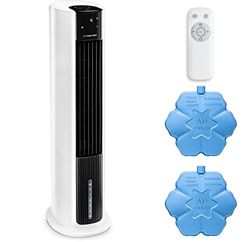 TROTEC Aircooler PAE 30 raffrescatore d'aria 3 in 1 ventilatore condizionatore d'aria mobile deumidificatori 4 velocità di ventilazione 7 l raffrescamento evaporativo Filtro dell'aria