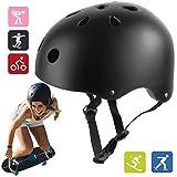 Skateboard Helmet, Suitable for Multi-Sport Scooter, Bike, Skating, Rollerblading, Skateboarding for Kids, Youth & Adults - Lightweight and Safetly (Large)