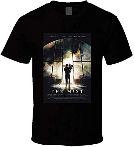 The Mist Herren T-Shirt mit Filmposter, kurzärmelig Gr. XL, Schwarz