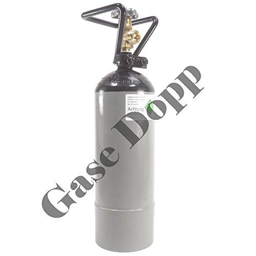 Stickstoffflasche 2 Liter Lebensmittel Stickstoff E941 gefüllte und fabrikneue Gasflasche von Gase Dopp