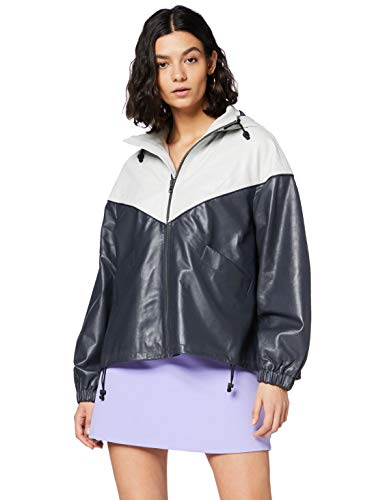 Pepe Jeans Lucy Chaqueta, Gris (Charcoal 987), Medium para Mujer