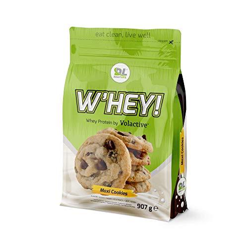 Proteine Whey- Proteine del siero del latte W'HEY 907 g (Maxi Cookies)
