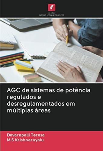 AGC de sistemas de potência regulados e desregulamentados em múltiplas áreas