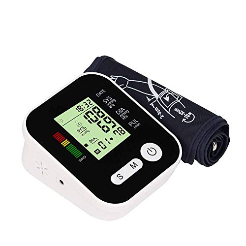WANGXN Blutdruckmessgerät Oberarm Für Den Heimgebrauch Tragbares Digitales Blutdruckmessgerät
