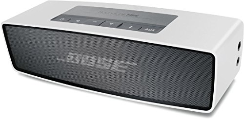 Bose ® SoundLink Mini ® - Altavoz portátil inalámbrico con Bluetooth (batería de 7 horas), plateado