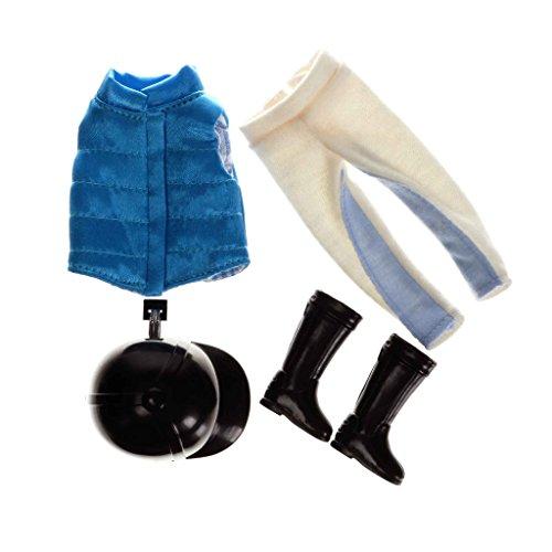 Lottie Kleidung LT069 Saddle Up Outfit Set - Puppen Zubehör Kleidung Puppenhaus Spieleset - Zubehör Kleidung Puppenhaus Spieleset - ab 3 Jahren