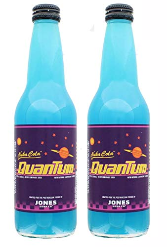 Jones Soda Fallout Nuka-Cola Quantum Official Berry Flavored Nuka-Cola Soda | Pack of 2