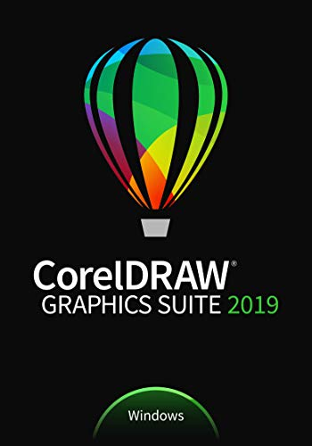 CorelDRAW Graphics Suite 2019 | Full License | 1 Gerät | PC | PC Aktivierungscode per Email