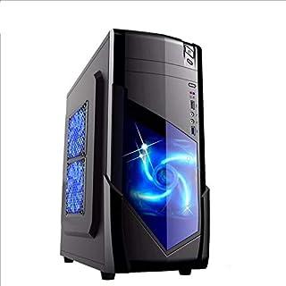 WTYD Computer Accessories 1728 USB 3.0 Main Chassis 440x180x480mm Micro-ATX/ATX PC PC Desktop Game Computer Case(Black) Us...