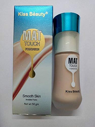Kiss Beauty AdbeniMAT Touch Foundation for Smooth Skin with Kajal...
