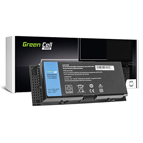 Green Cell® PRO Serie FV993 R7PND X57F1 Batteria per Portatile Dell Precision M4600 M4700 M4800 M6600 M6700 M6800 (Le Pile Originali Samsung SDI, 9 Pile, 7800mAh, Nero)
