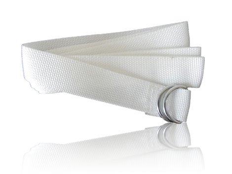 Full Force Wear American Football Gürtel, 150cm, weiß