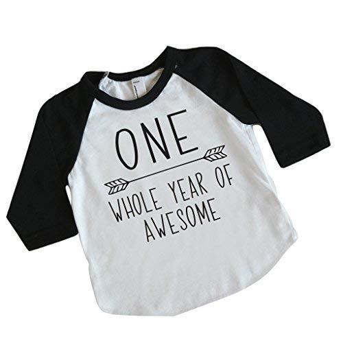 96d440f7272a Boy First Birthday Shirt, 1st Birthday Boy Outfit (12-18 Months)