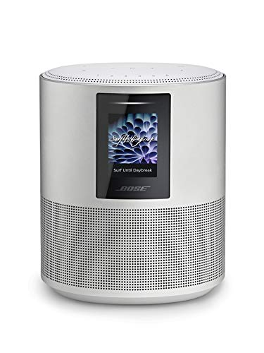 Bose Home Speaker 500: Smart Bluetooth Speaker with Alexa Voice Control Built-in, Silver