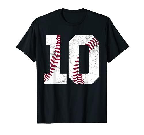 2011 10th Birthday Baseball Boys Kids Ten 10 Tenth Gift T-Shirt