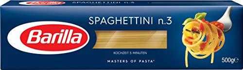 Barilla Hartweizen Pasta Spaghettini n. 3, 1er Pack (1 x 500 g)