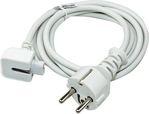 Luxburg® Stromkabel kompatibel mit Apple Netzteile Apple MacBook MagSafe,PowerBook,PowerBook Pro 15zoll 17zoll ,G4,iBook,iPhone,ipod A1222 A1184 MA938 Powerbook G3 G4 usw.