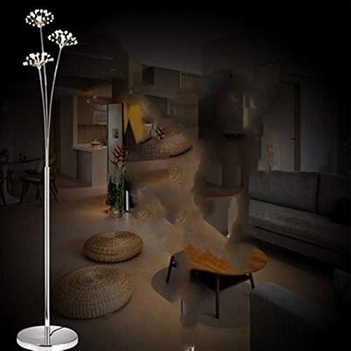 JSJJAJN Interior Moderna lámpara de Piso LED Simple Lámpara de Estar Dormitorio...