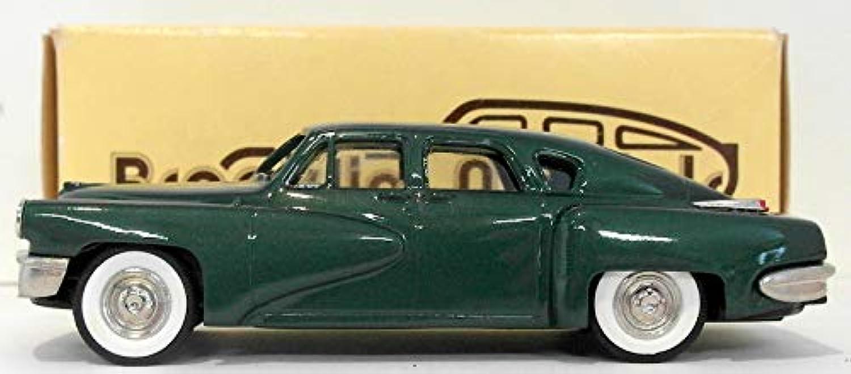 Brooklin 1 43 Scale BRK2X  1948 Tucker  Tucker Club Special 1992  Green