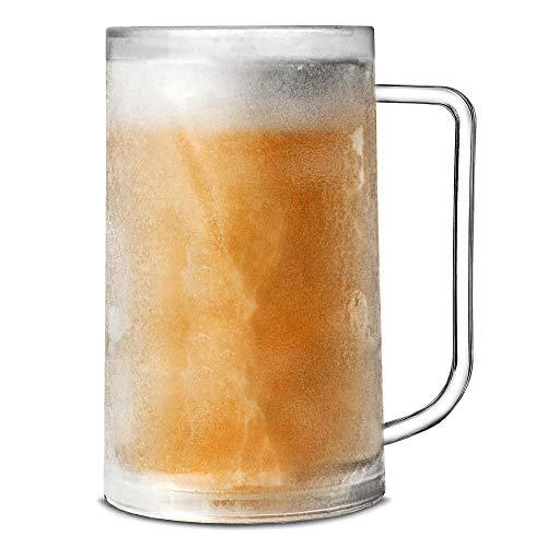 bar @ drinkstuff Boccale di birra in plastica, frostable 380 ml, manterrà la tua birra fredda