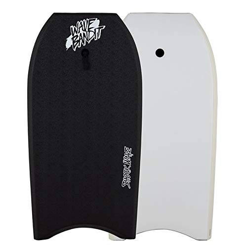 Catch Surf Wave Bandit Shockwave Bodyboards (Black, 45)