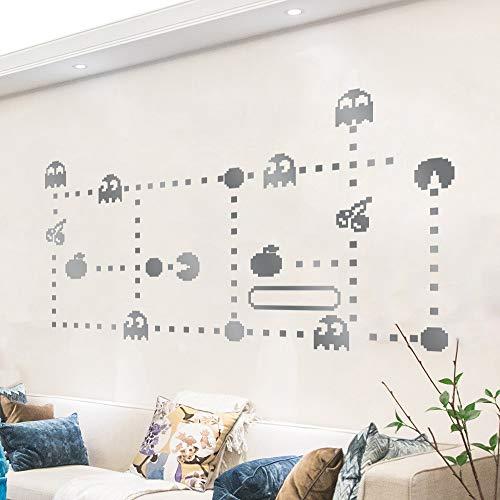 WandaufkleberUmweltfreundliche Diy Abnehmbare Klassische Pixel Spiel Pac-Man Kreative Wandaufkleber Kinderzimmer Aufkleber Hintergrund Wand Dekorative Malerei