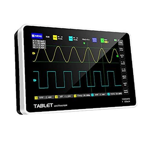 Osciloscopio digital 1013D con 2 canales LCD de pantalla táctil Negro anfitrión de frecuencia de muestreo de repuesto para FNIRSI