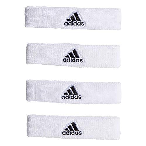 adidas Interval 3/10,2cm Bicep Band, Unisex, White/Black, Taglia Unica