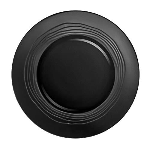 Médard de Noblat ML65CCB0001AP Escale Noir Assiettes Plates