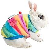 Yedaoiu Invierno cálido Mascota Ropa Conejito Conejo Guinea Conejito Lindo pequeño Animal Traje Accesorios Traje para Hamster Rata Guinea Cerdo Gato Gatito Perro Cachorro y pequeños Animales,3XL