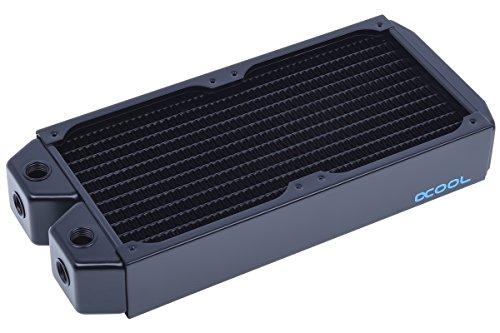 Alphacool 14164 NexXxoS XT45 Full Copper 240mm Radiator - CPU Wasserkühlung - Kupfer/schwarz